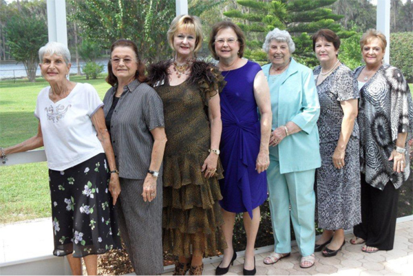 GFWC Lutz and Land O Lakes Woman's Club past presidents