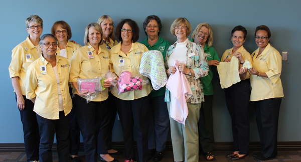 PHOTO SUBMITTED BY:  TRACY CLOUSER: FRONT ROW (left to right) : FINA DOUGLAS, BETTY WENNING, ETHEL LICHTERMAN, KAREN MOLIS,  BACK ROW (left to right): DIANE SUTERA, JOANNE MILLER, JUDY TEMPLETON, MARCY EDMONDSON, CIEL BIRKETT, ALENE MITCHELL, ANY BAGLEY
