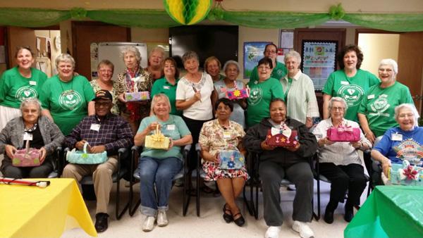 Crafting to seniors
