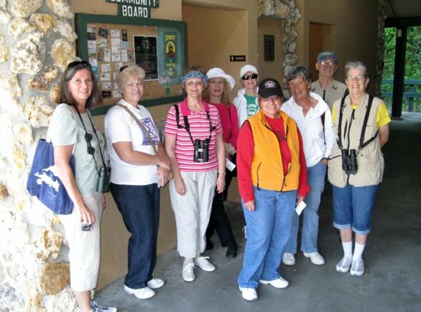 Woman's Club Goes on a Birding Field Trip