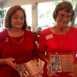 Honoring the outgoing chairs of the Annual Lutz Arts & Crafts Shows