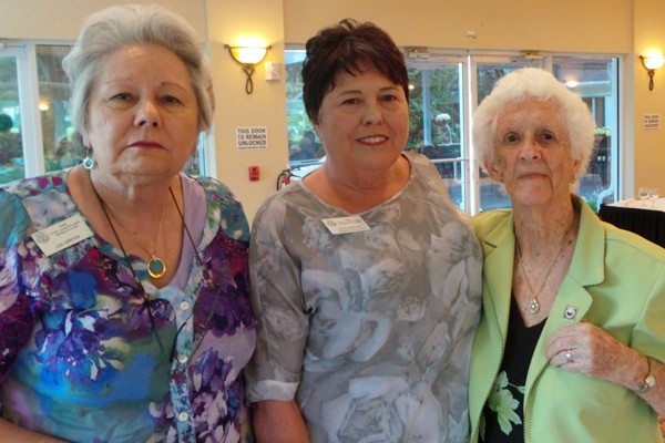Club Honors Members – 85 Years of Combined Service