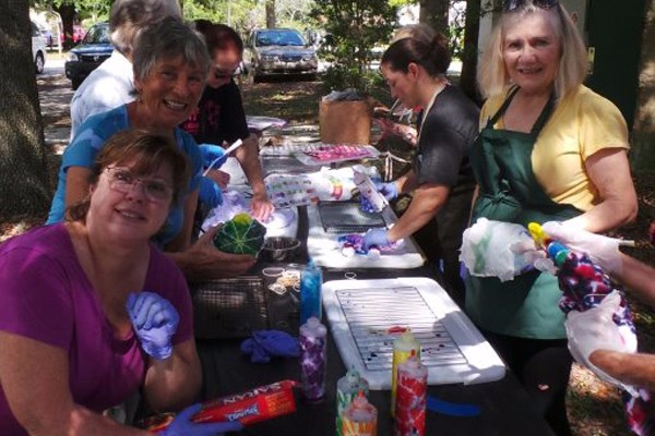 Tie Dye Activity Raises Money for Very Special Arts