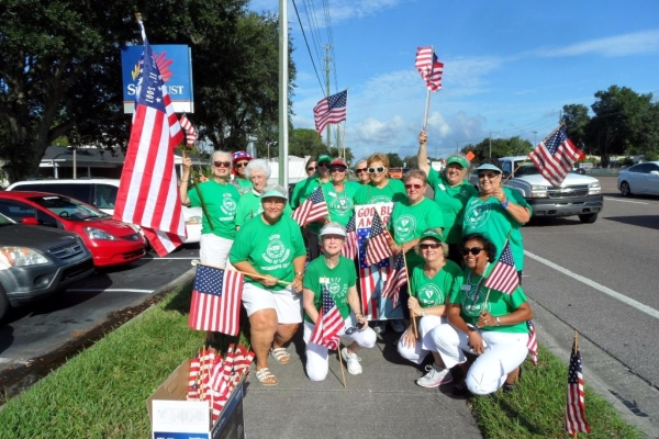 Woman's Club Commemorates 9/11