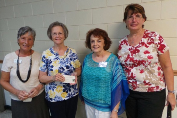 Club Honors Longtime Members