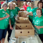 Support the Troops – Assembling Donation Packages