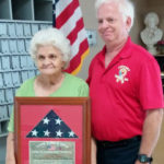 Gloria Dale Recognized for her Work with Support the Troops