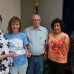 Donation from the Lutz Civic Association to be applied toward the club's Scholarship Fund for 2016