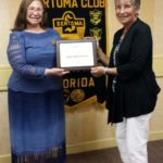 Aniko Solomonson Honored by Tampa GEM Sertoma