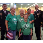 Club Welcomes Honor Flight Vets Home