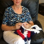 Patriotic Lap Blankets for Vets