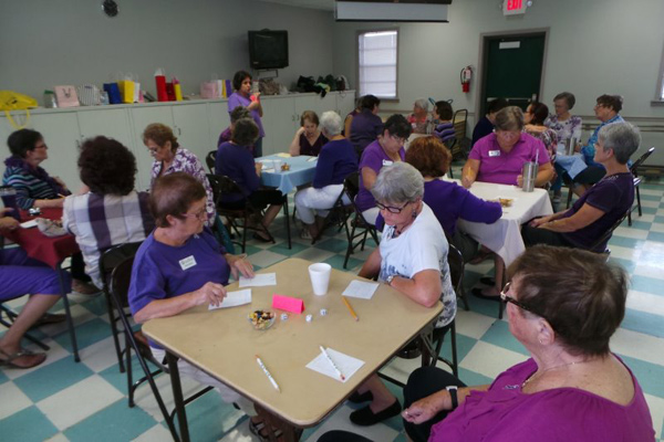 COMMEMORATES DOMESTIC VIOLENCE MONTH WITH 'PURPLE' FUNDRAISER