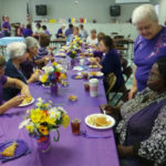 Purple Fundraiser Commemorates Domestic Violence Month
