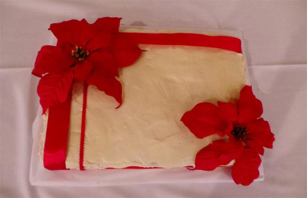 Cake created by former member Janet Hardy