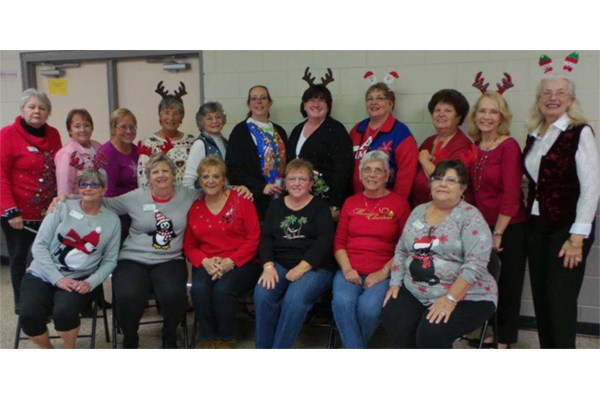 Board Meeting / Ugly Sweater Luncheon