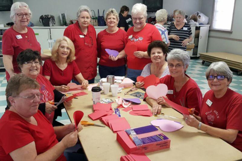 Preparing Treats for Seniors and Vets