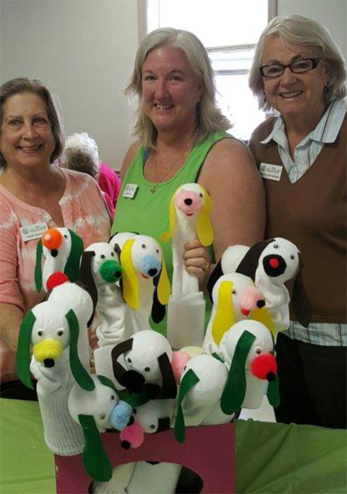 Sock Puppy Puppets to be Sold at the Annual DogFest