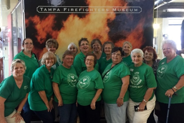 Supporting Tampa Firefighters Museum