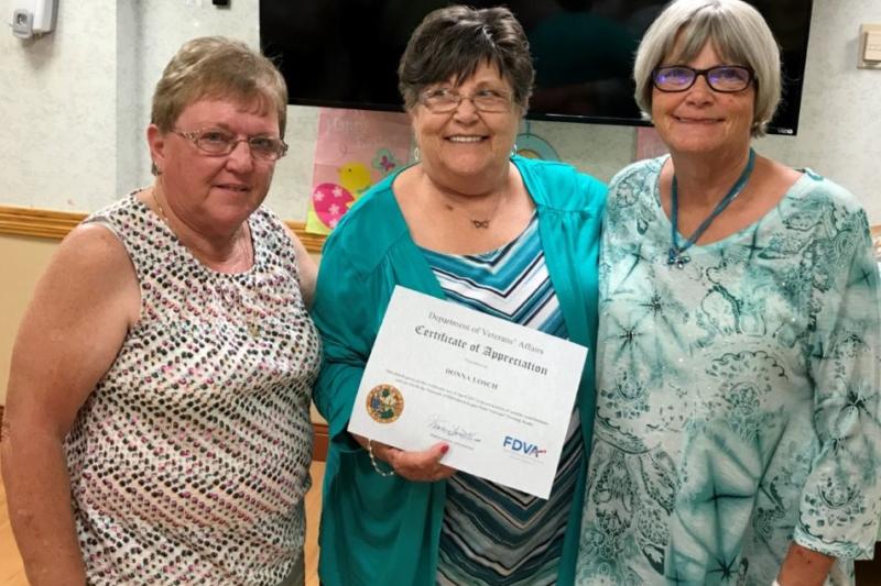 Baldomero Lopez VA Nursing Home Volunteer Appreciation Tea