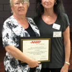 Club and AARP Member Receive National AARP Honor