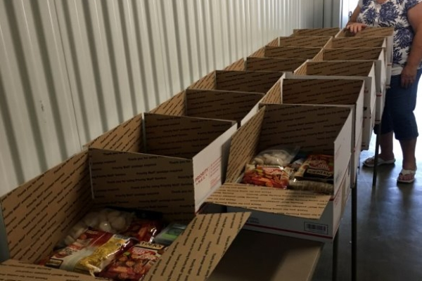Club Ships Boxes to Support Female Troops