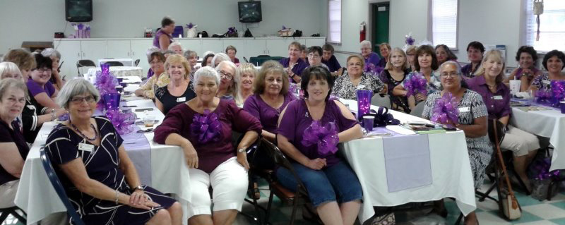 Club Members at Fundraiser Luncheon