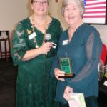 2017 Clubwoman of the Year – Pat Wagner