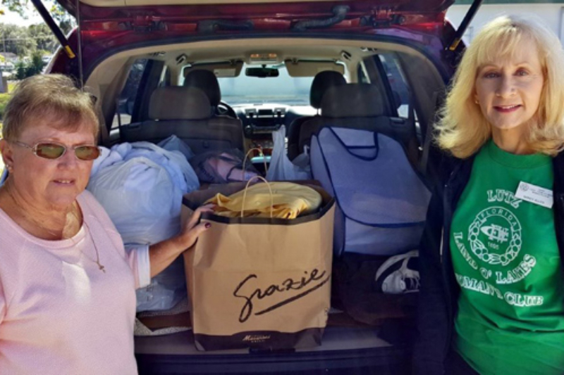 Donation of Clothes to Liberty Manor for Veterans
